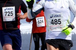 Fjellmaraton nr på magen